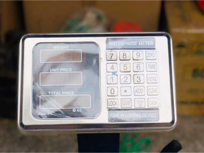 Thanh lý cân điện tử chống nước 150kg0