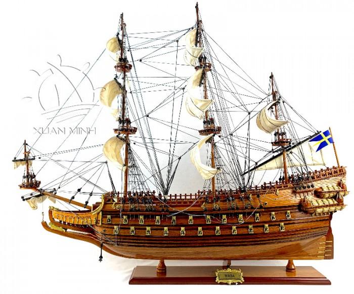 Mô hình Tàu Cổ Các Loại Dài 90-100cm - Gỗ Căm xe