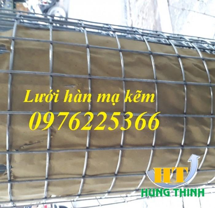 Lưới thép hàn D3 ô 30x30, 50x50, 50x100 lưới mạ kẽm, lưới đen2