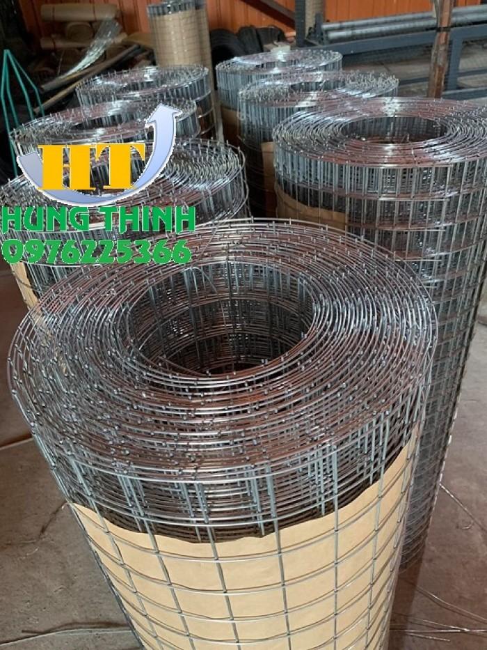 Lưới thép hàn D3 ô 30x30, 50x50, 50x100 lưới mạ kẽm, lưới đen7