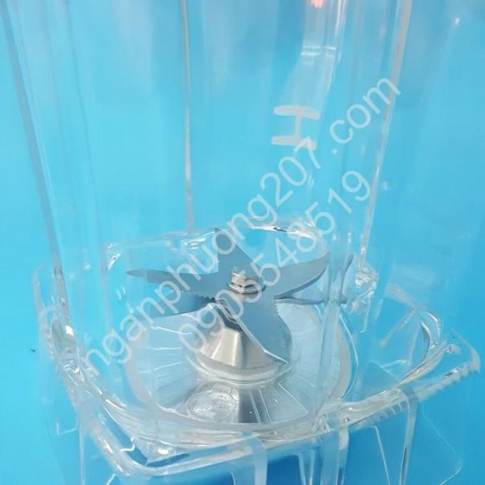 Máy xay sinh tố công nghiệp BLENDER ZW-88 công suất 1200W, Cối xay 2 lít3