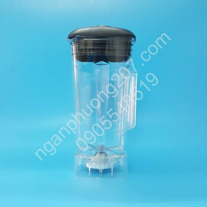 Máy xay sinh tố công nghiệp BLENDER ZW-88 công suất 1200W, Cối xay 2 lít5