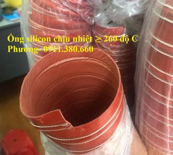 Ống Dẫn Silicon Chịu Nhiệt Độ Cao, Dẫn Khí Nóng ≥ 260 Độ1
