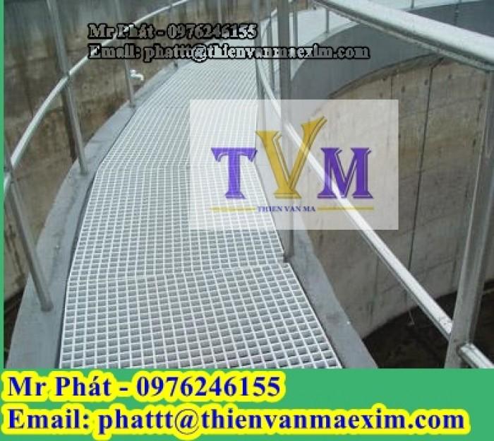 Nắp đậy mương thoát nước frp grating composite0
