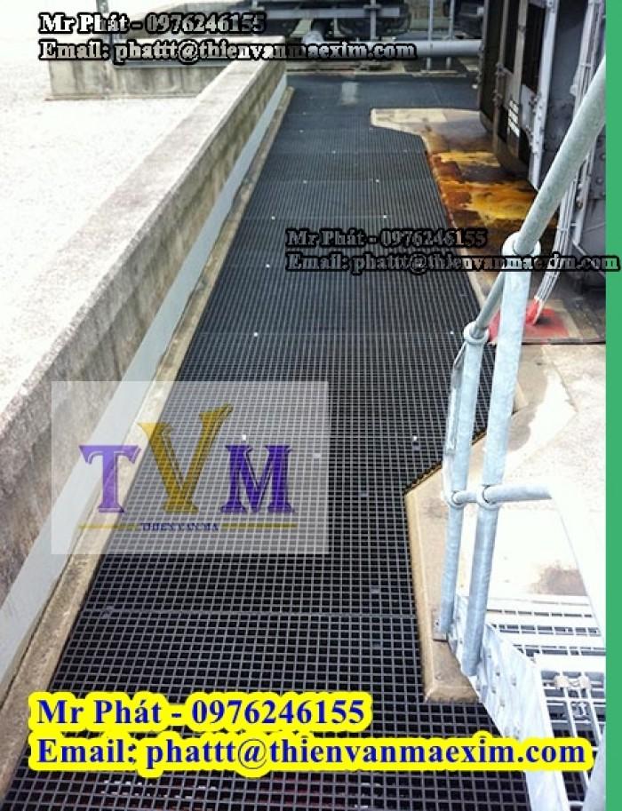 Nắp đậy mương thoát nước frp grating composite11