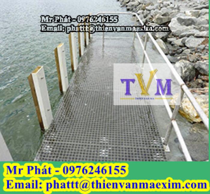 Nắp đậy mương thoát nước frp grating composite4