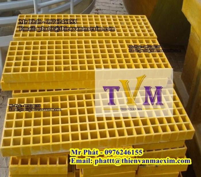 Nắp đậy mương thoát nước frp grating composite10