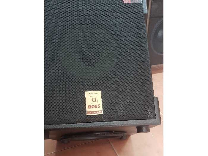 sub điện Q_Boss  2 bass 2 tấc rưỡi Q9001