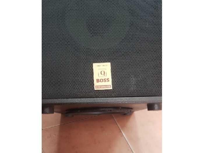 sub điện Q_Boss  2 bass 2 tấc rưỡi Q9002