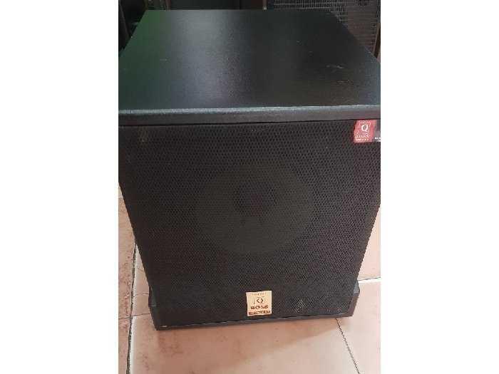 sub điện Q_Boss  2 bass 2 tấc rưỡi Q9003