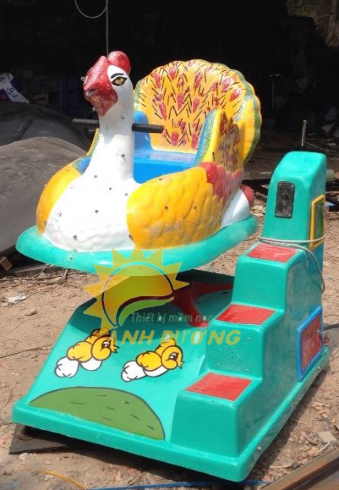 Chuyên cung cấp thú nhún điện cho trường mầm non, công viên, khu vui chơi trẻ em4