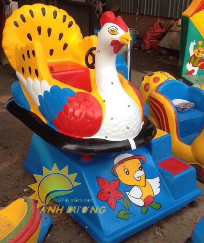 Chuyên cung cấp thú nhún điện cho trường mầm non, công viên, khu vui chơi trẻ em2