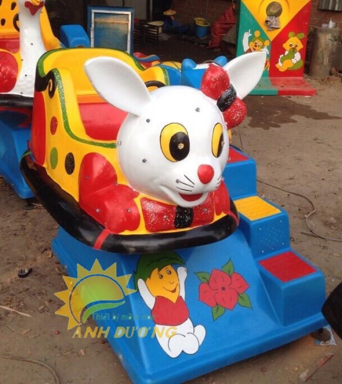 Chuyên cung cấp thú nhún điện cho trường mầm non, công viên, khu vui chơi trẻ em7