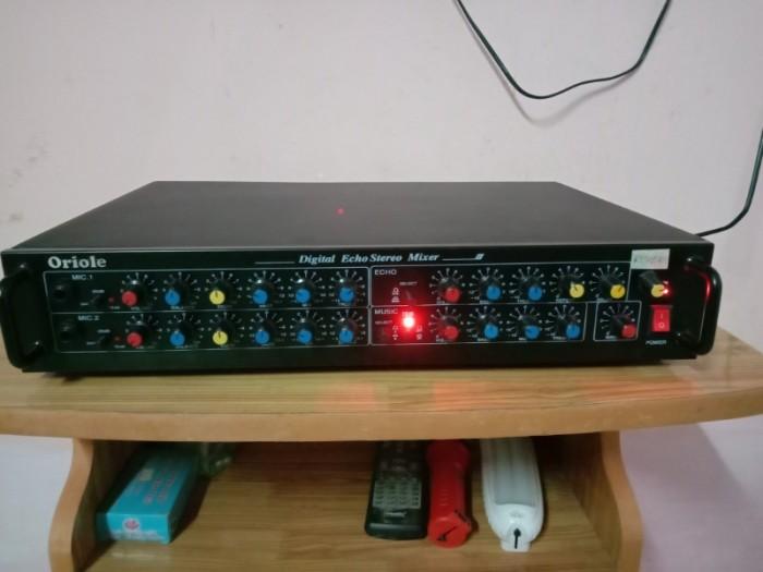 Mixer 2 line ( Echo rời) có Echo + REVER , có ngõ cắm đàn organ0