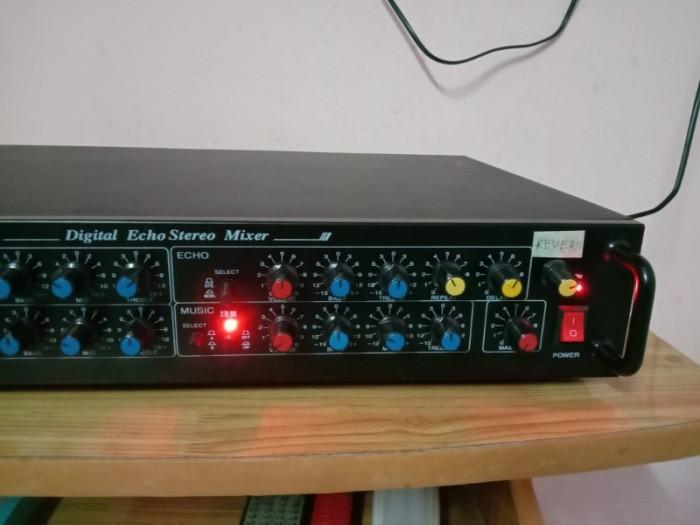 Mixer 2 line ( Echo rời) có Echo + REVER , có ngõ cắm đàn organ3