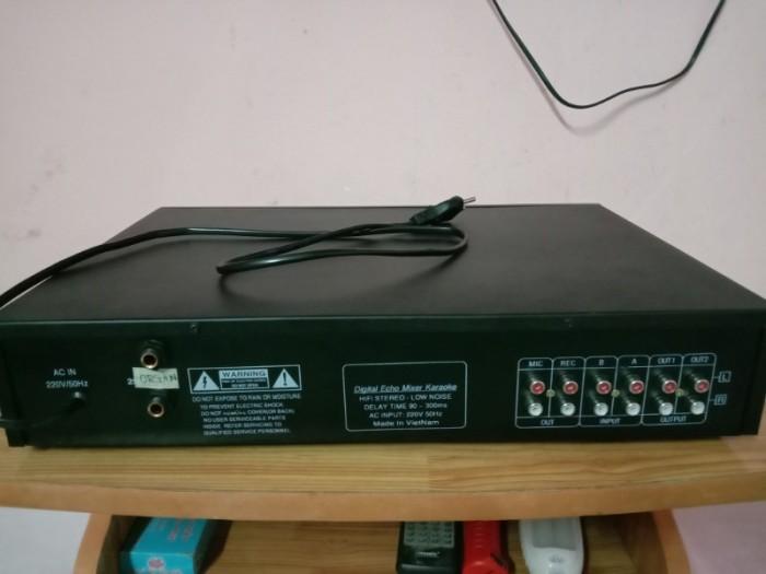 Mixer 2 line ( Echo rời) có Echo + REVER , có ngõ cắm đàn organ2
