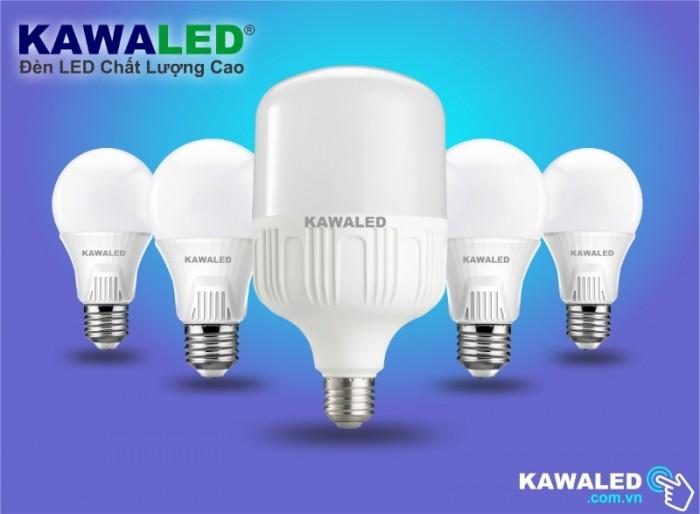 Đèn LED Bulb Nhôm Trụ0