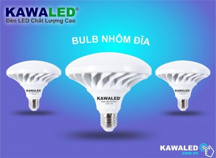 Đèn LED Bulb Nhôm Đĩa1