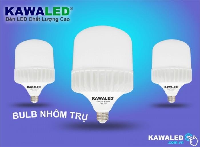 Đèn LED Nhôm Trụ2