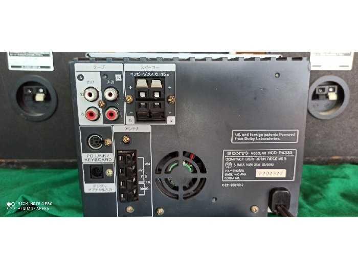 Bộ Sony HCD-PX 3333