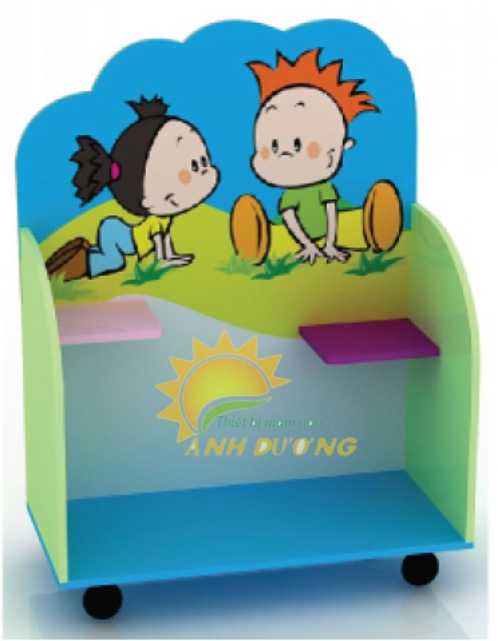 Chuyên cung cấp kệ gỗ trẻ em cho trường lớp mầm non, gia đình14