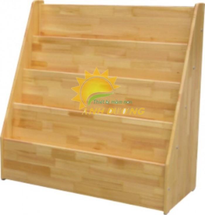 Chuyên cung cấp kệ gỗ trẻ em cho trường lớp mầm non, gia đình24