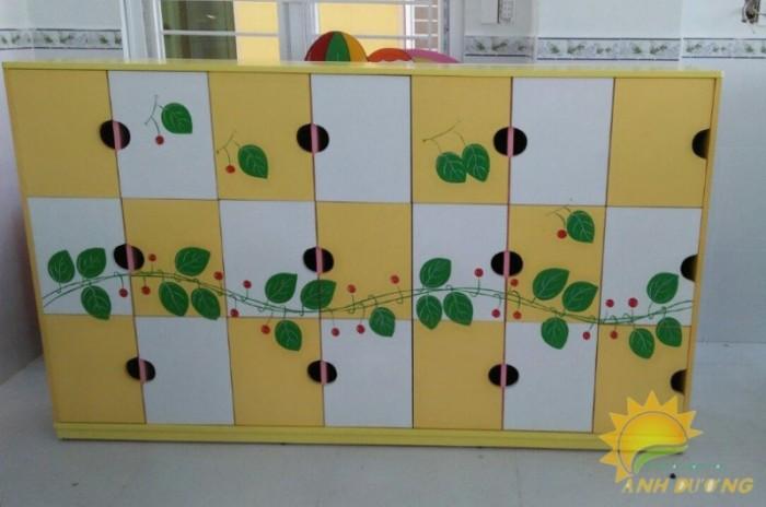 Cần bán tủ gỗ, tủ nhựa trẻ em cho trường lớp mầm non, gia đình4