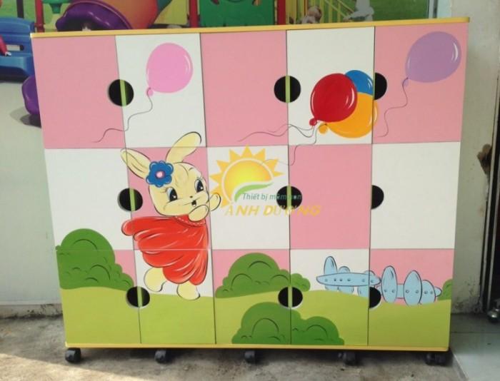 Cần bán tủ gỗ, tủ nhựa trẻ em cho trường lớp mầm non, gia đình9
