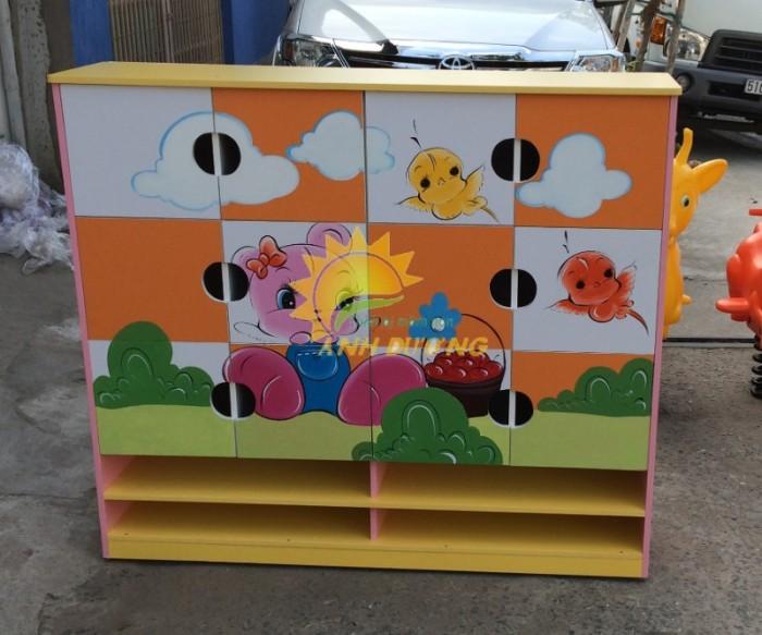 Cần bán tủ gỗ, tủ nhựa trẻ em cho trường lớp mầm non, gia đình10