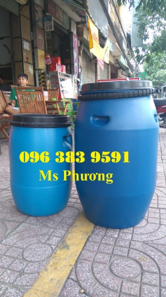 Cung cấp thùng phuy nhựa 50l - 100l - 120l - 150l - 220l2
