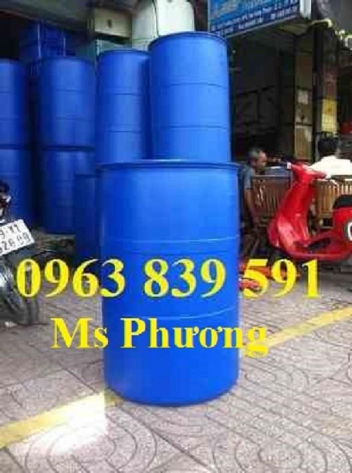 Cung cấp thùng phuy nhựa 50l - 100l - 120l - 150l - 220l3