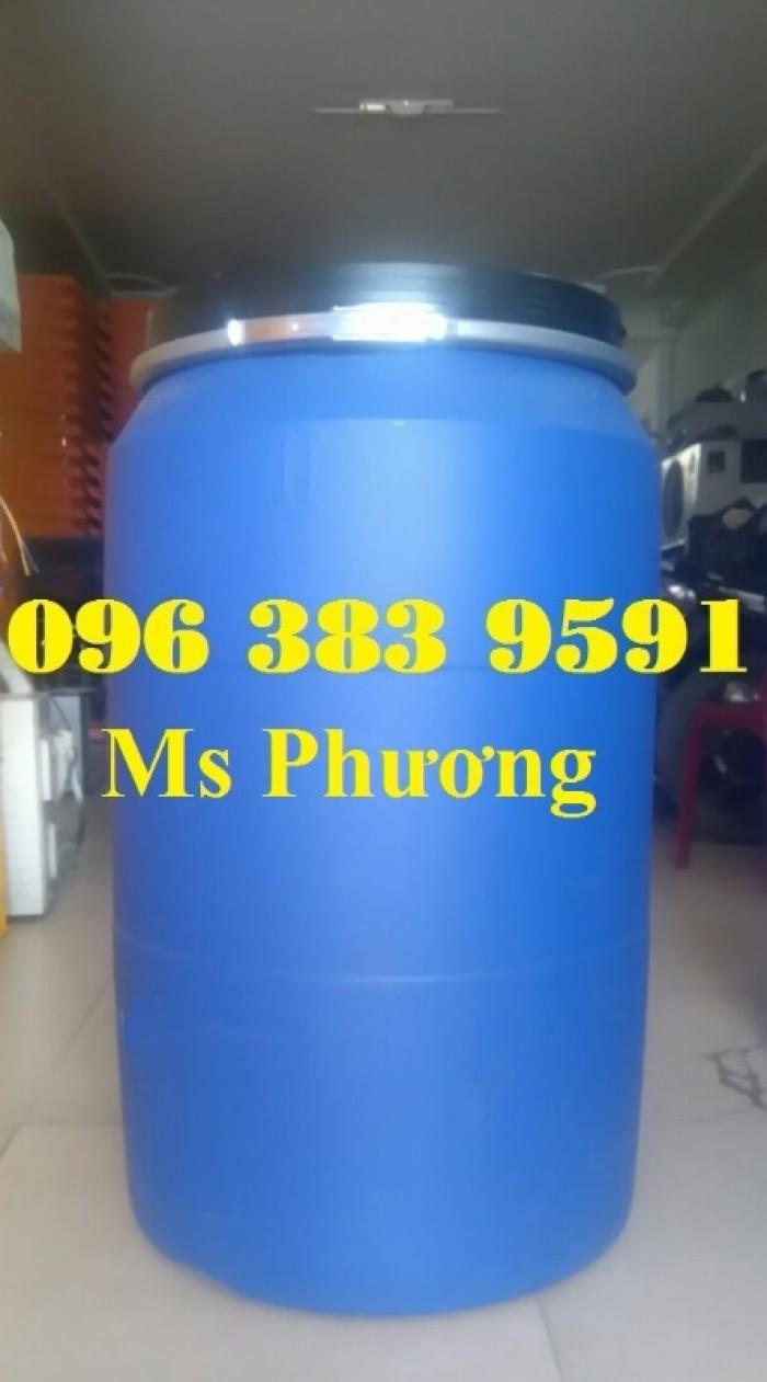 Cung cấp thùng phuy nhựa 50l - 100l - 120l - 150l - 220l4