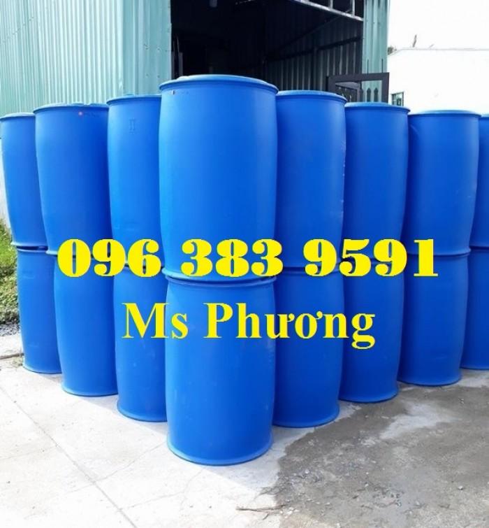 Cung cấp thùng phuy nhựa 50l - 100l - 120l - 150l - 220l5
