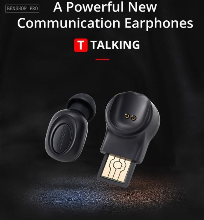 Tai nghe không dây siêu nhỏ Bluedio T Talking3