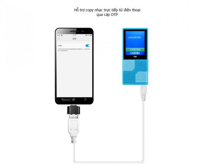 Máy nghe nhạc mini Aigo MP3-206 (Tặng kèm thẻ nhớ 8Gb)1