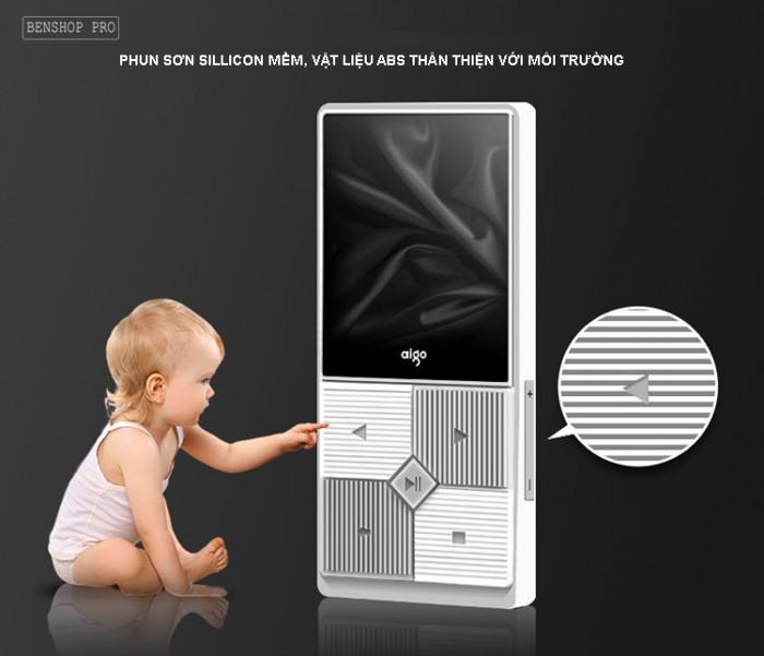 Máy nghe nhạc mini Aigo MP3-206 (Tặng kèm thẻ nhớ 8Gb)3