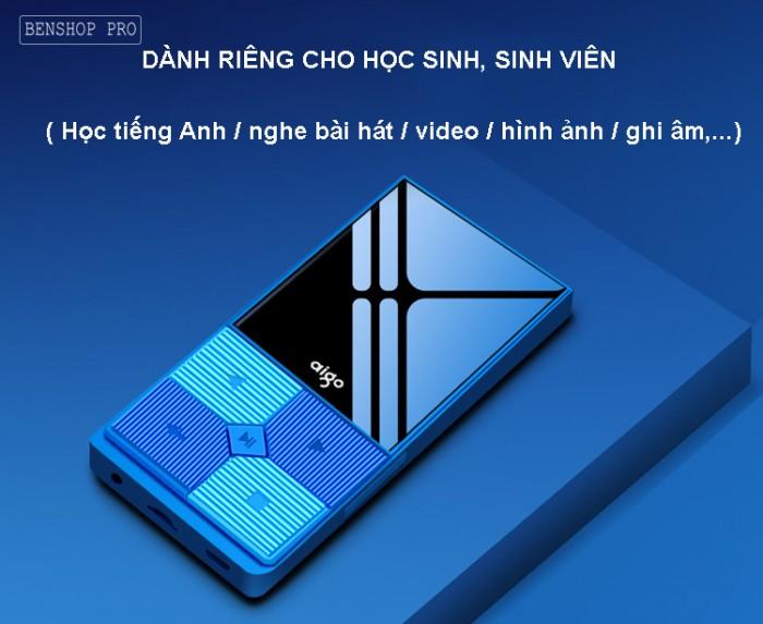 Máy nghe nhạc mini Aigo MP3-206 (Tặng kèm thẻ nhớ 8Gb)8