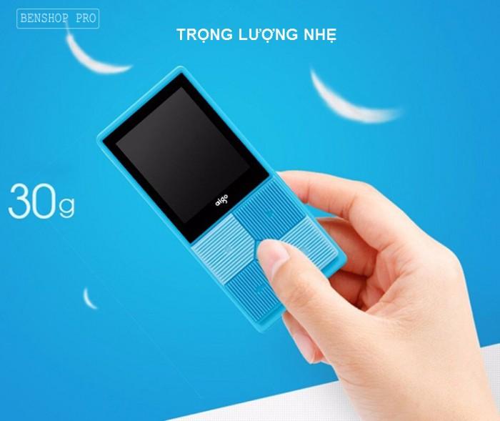 Máy nghe nhạc mini Aigo MP3-206 (Tặng kèm thẻ nhớ 8Gb)6