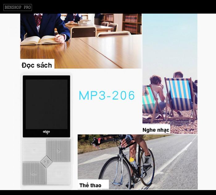 Máy nghe nhạc mini Aigo MP3-206 (Tặng kèm thẻ nhớ 8Gb)10