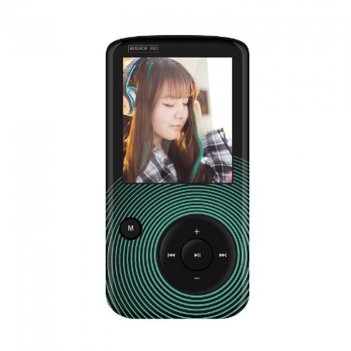 Máy nghe nhạc Lossless Bluetooth Aigo MP3-209 (Tặng thẻ nhớ 8Gb và tai nghe)8