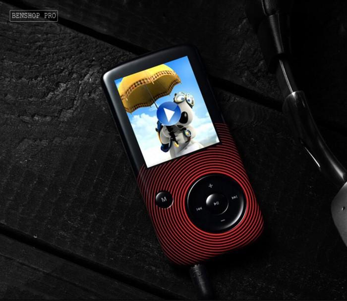 Máy nghe nhạc Lossless Bluetooth Aigo MP3-209 (Tặng thẻ nhớ 8Gb và tai nghe)9