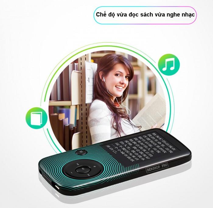 Máy nghe nhạc Lossless Bluetooth Aigo MP3-209 (Tặng thẻ nhớ 8Gb và tai nghe)10