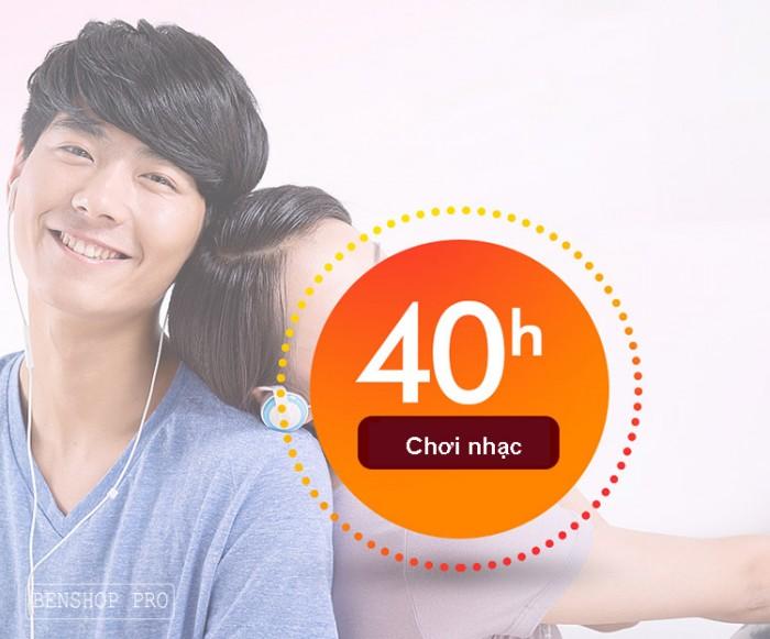 Máy nghe nhạc Lossless Bluetooth Aigo MP3-209 (Tặng thẻ nhớ 8Gb và tai nghe)11
