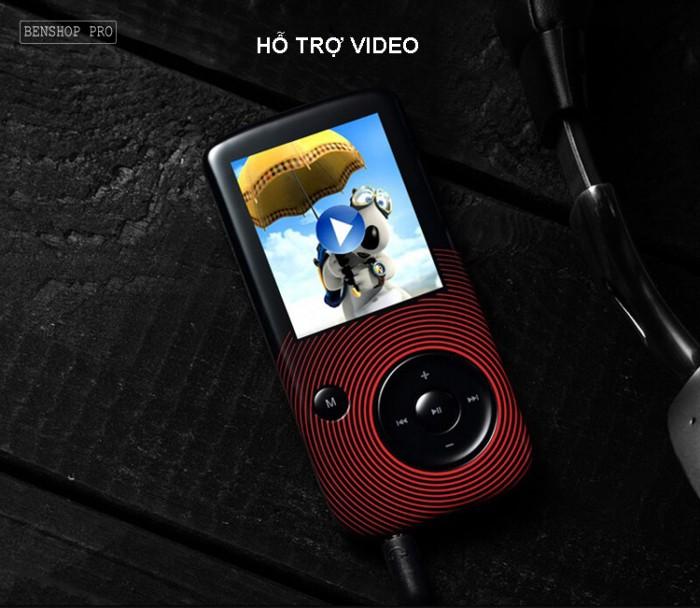 Máy nghe nhạc Lossless Bluetooth Aigo MP3-209 (Tặng thẻ nhớ 8Gb và tai nghe)15