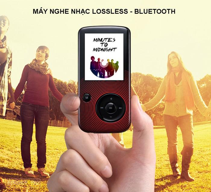 Máy nghe nhạc Lossless Bluetooth Aigo MP3-209 (Tặng thẻ nhớ 8Gb và tai nghe)16
