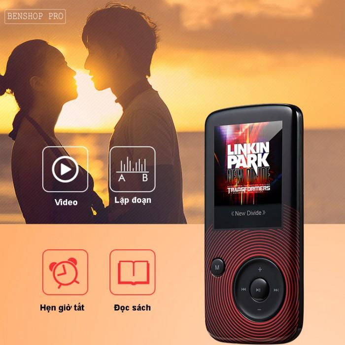 Máy nghe nhạc Lossless Bluetooth Aigo MP3-209 (Tặng thẻ nhớ 8Gb và tai nghe)12