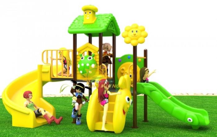 Các bộ liên hoàn cầu trượt trẻ em cho trường mầm non, sân chơi, công viên giá cực SỐC8