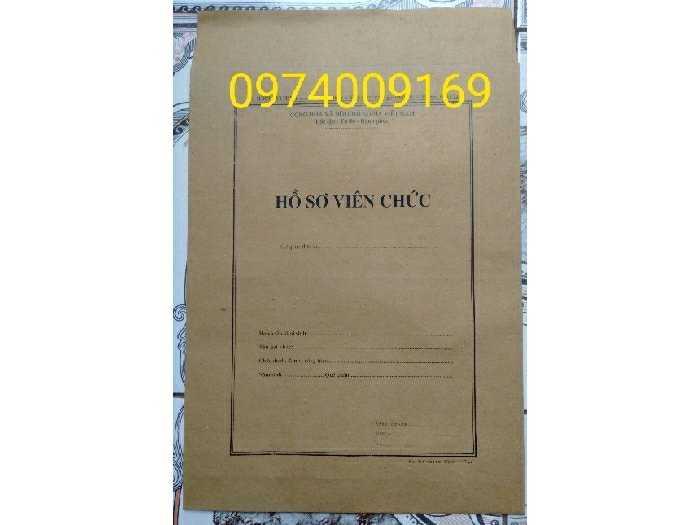 Bán bìa hồ sơ viên chức/vỏ hồ sơ0