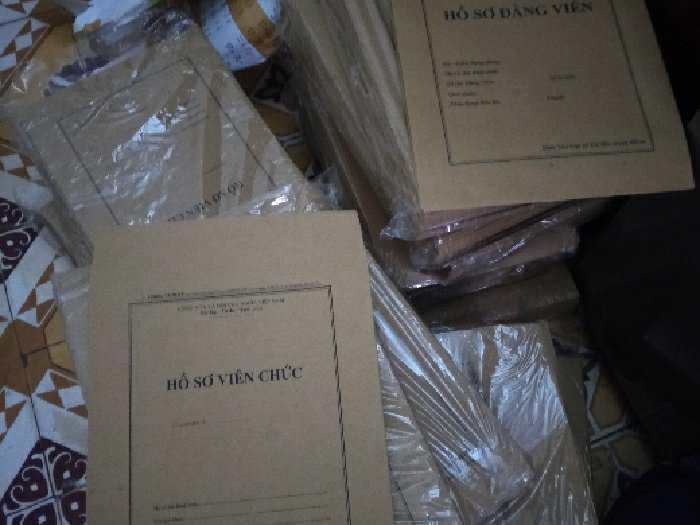 Bán bìa hồ sơ viên chức/vỏ hồ sơ1