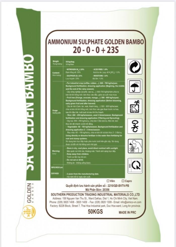 Phân Đạm 20.5% - Ammonium Sulphate Golden Bamboo1